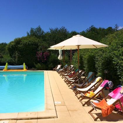 camping Rastaillou in Cadouin, Perigord, Dordogne