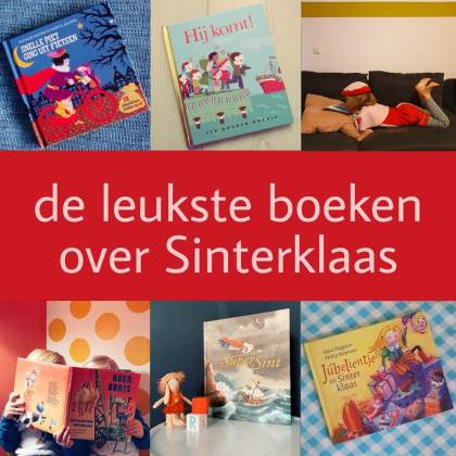 De leukste boeken over Sinterklaas