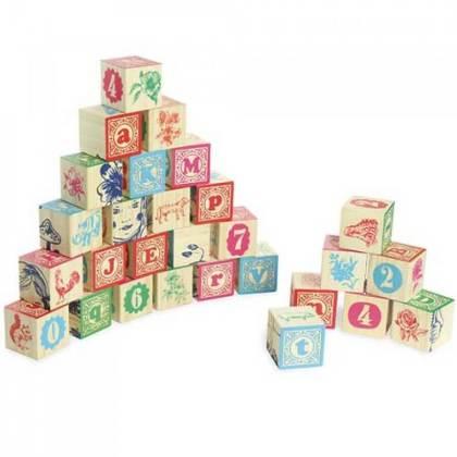 Cadeau ideeën voor kinderen die graag bouwen: houten blokken
