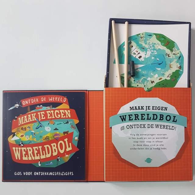 Knutsel je eigen wereldbol en ontdek van alles over de wereld. Ontdek de wereld, maak je eigen wereldbol. DIY Globe.