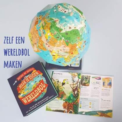 Knutsel je eigen wereldbol en ontdek van alles over de wereld