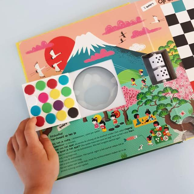 Spelletjesboek voor de vakantie: De Wereld Rond Met Spelletjes