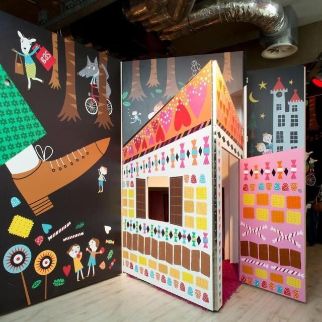 Op ontdekkingstocht in kinderkunstmuseum Villa Zebra #leukmetkids