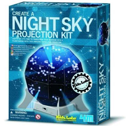 4m kidzlabs sterrenhemel projectie voor jongens en meisjes die gek zijn op techniek en bouwen
