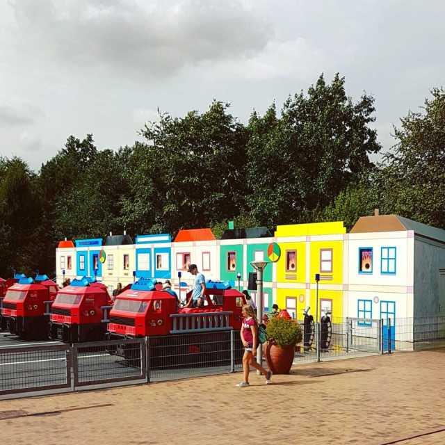 Legoland met kinderen: alles wat je wil weten, Adventure Land Fire Brigade brandweer #leukmetkids #legoland #Denemarken #kinderen