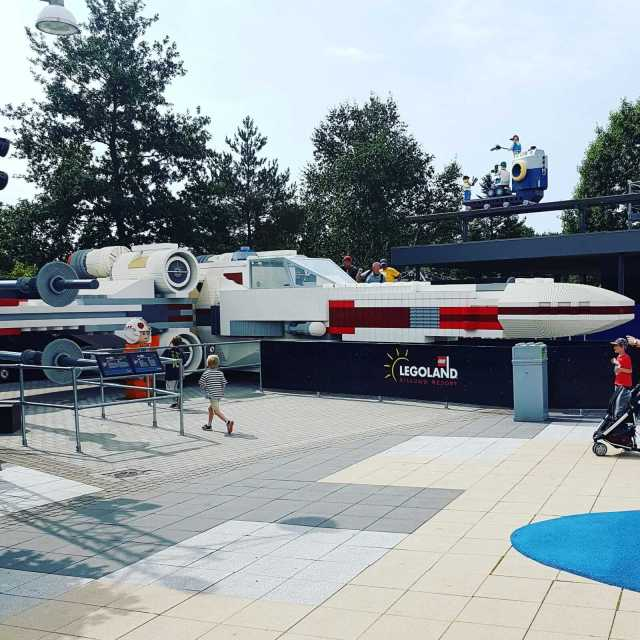 Legoland met kinderen: alles wat je wil weten, Imagination Zone Star Wars #leukmetkids #legoland #Denemarken #kinderen