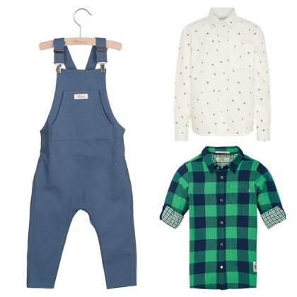 Toffe tuinbroeken voor stoere jongens: vijf outfits
