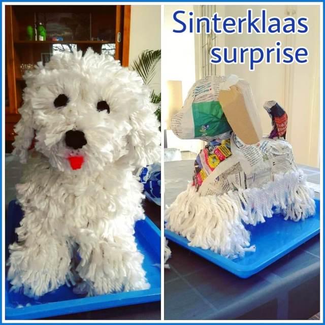 Sinterklaas surprise hondje