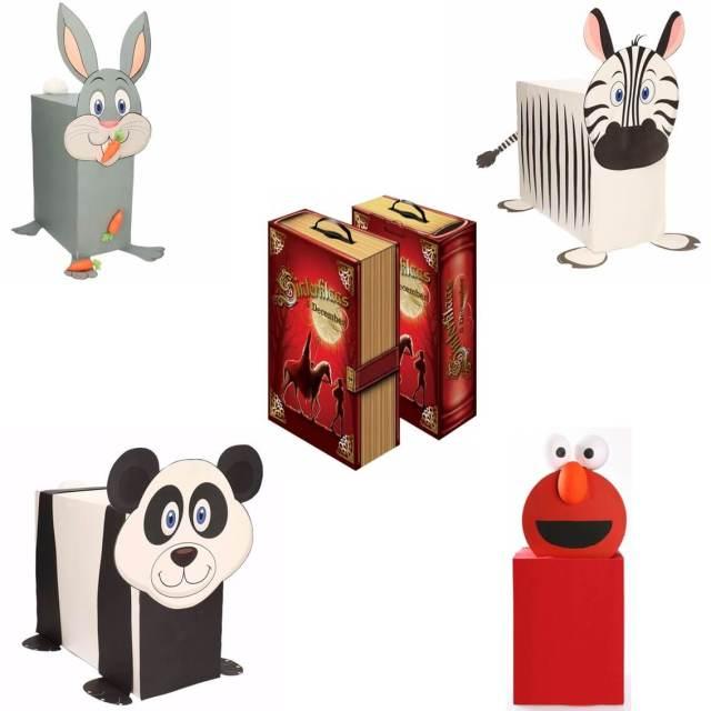 Sinterklaas surprise knutsel pakketten