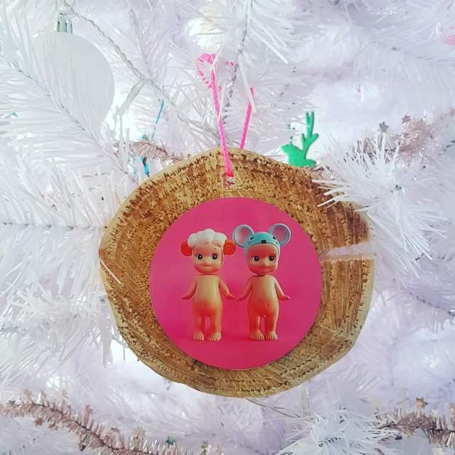Kerst knutselen met foto'