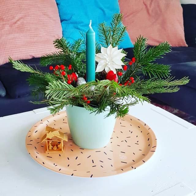 Kerst knutselen: zelf een kerststukje maken