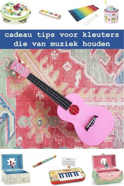 cadeau tips voor kleuters die van muziek houden