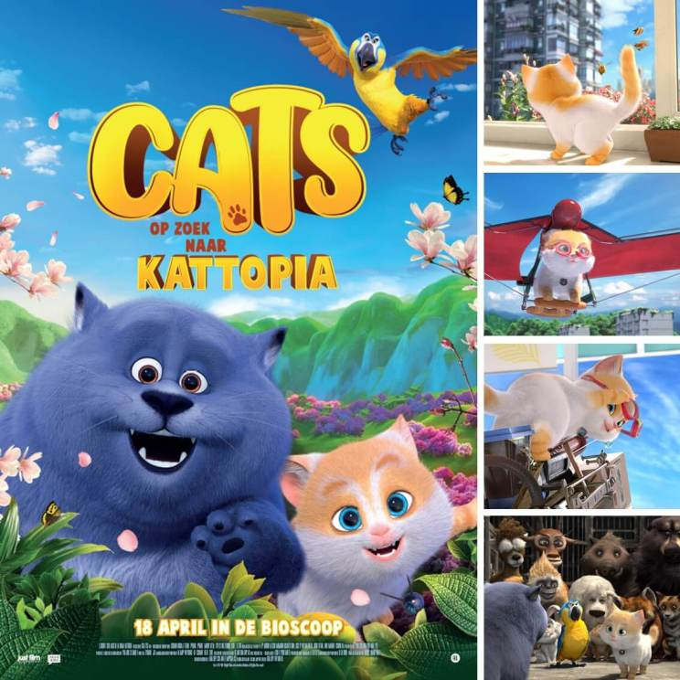 Filmtip: Cats op zoek naar Kattopia