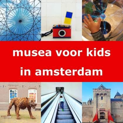 De leukste museum tips in Amsterdam voor kinderen