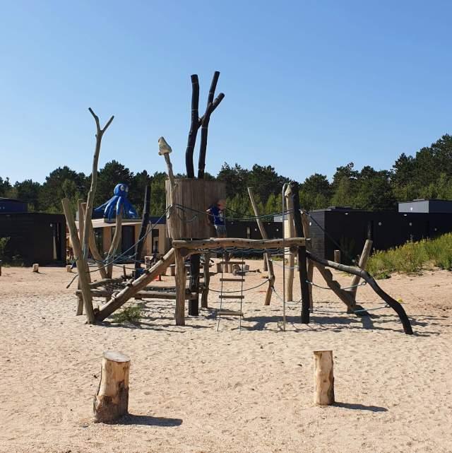 speeltuin op camping Bakkum bij Duinroos en Duinzicht