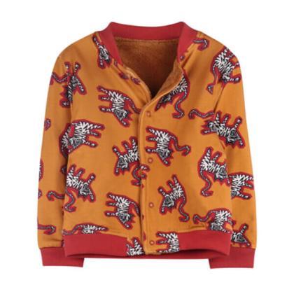 Ammehoela unisex winterjassen voor meisjes en jongens omkeerbaar