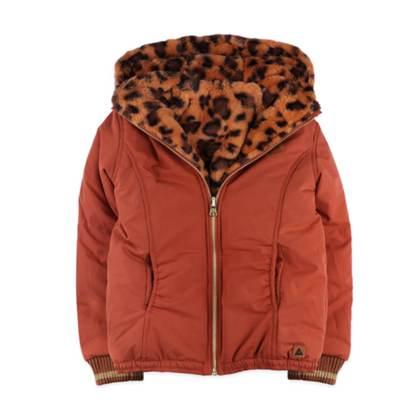 Ammehoela unisex winterjassen voor meisjes en jongens gevoerd