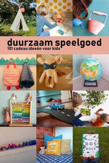 Duurzaam speelgoed: cadeau ideeën voor kinderen