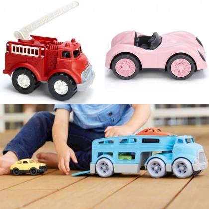 duurzaam speelgoed: Green Toys auto