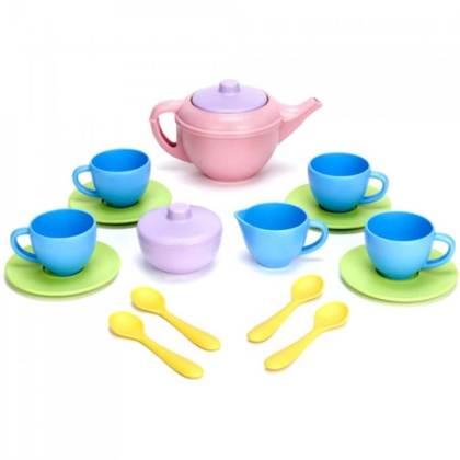 Duurzaam speelgoed: Green Toys serviesje