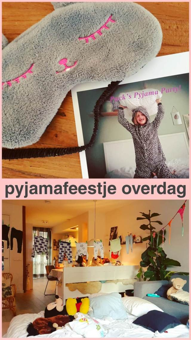 Pyjamafeestje overdag: Puck's Pyjama Party