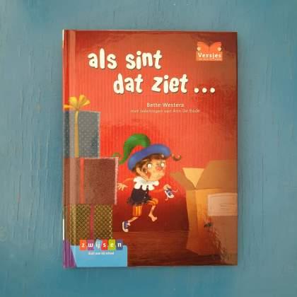 AVI boeken over Sinterklaas voor kinderen die net leren lezen - Als Sint dat ziet - AVI M3