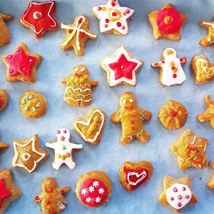 Gingerbread cookies peperkoek
