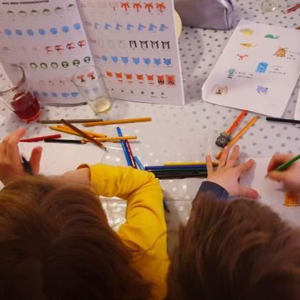 101 ideeën om te knutselen met kinderen - boek zo teken je leuke dieren