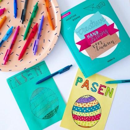 creatieve handlettering voor kinderen