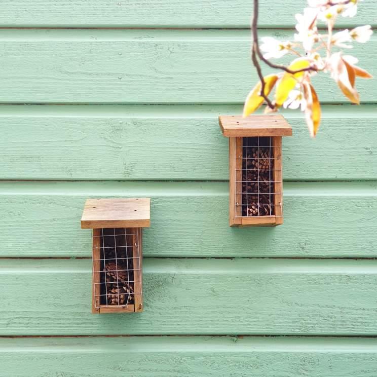 vogelhuisje of insectenhotel zelf knutselen