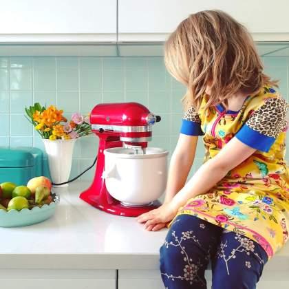 Kitchenaid ijsmachine, je maakt hiermee van je keukenmixer een ijsmaker