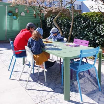 Fermob Luxembourg stoelen en Oleron tafel