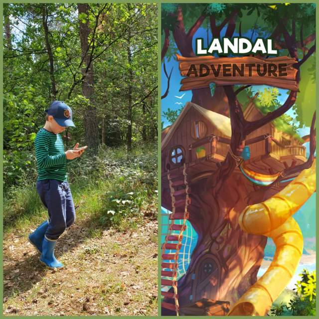 Landal Adventure game app: kruising tussen Minecraft en Pokemon Go in de natuur