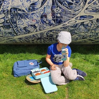 Toffe lunchboxen en drinkflessen voor kinderen: klaar voor school - Mepal Bento lunchbox Take a Break en waterfles Ellipse