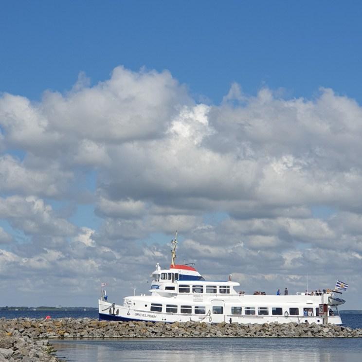 boottocht over het Grevelingenmeer