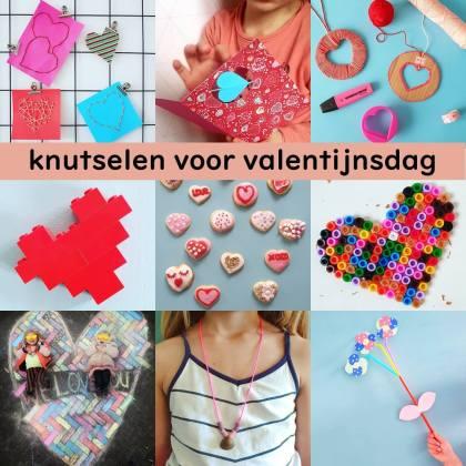 Knutselen voor Valentijnsdag de leukste ideeën met kinderen