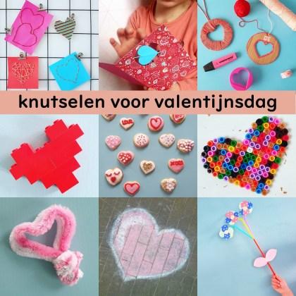 Knutselen voor Valentijnsdag: de leukste ideeën. Het is weer bijna 14 februari, een leuke aanleiding om lekker te knutselen met de kids. Ik verzamelde de leukste ideeën om te knutselen voor Valentijnsdag!