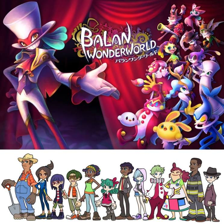 Nieuwe game: Balan Wonderworld voor Switch, PlayStation en Xbox