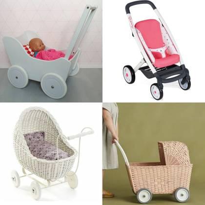 Leukste kraamcadeau: 101 cadeau ideeën voor de geboorte van een baby. Een poppenwagen is een cadeau waar kinderen heel lang mee kunnen spelen.