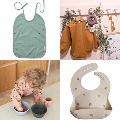 Leukste kraamcadeau: 101 cadeau ideeën voor de geboorte van een baby. Slabbetjes kun je nooit te veel hebben.