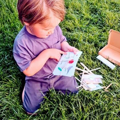 Vind je het lastig om zelf iets leuks te bedenken om in de tuin te doen? Spriet verstuurt complete duurzame natuuractiviteiten naar je brievenbus.