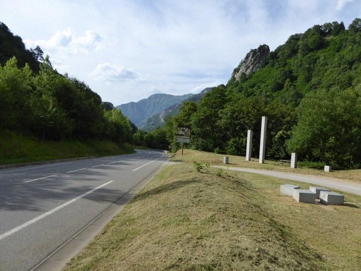 Fahrt durch die Pyrenäen