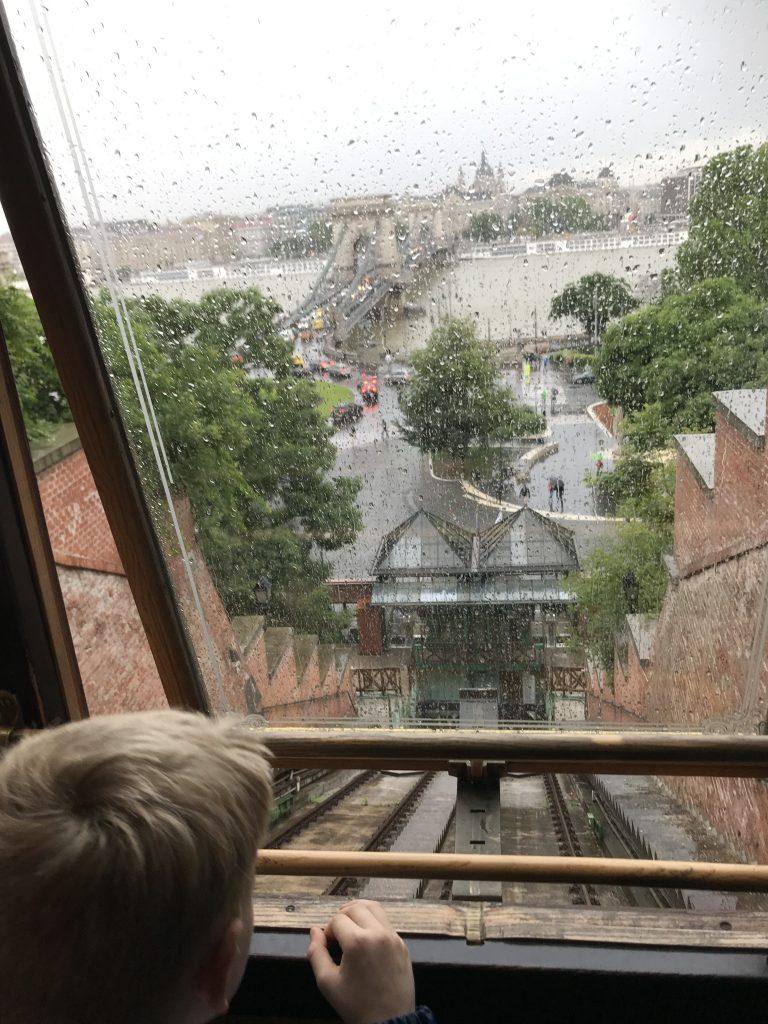 Utsikt fra Buda borg