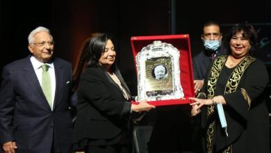صورة وزيرة الثقافة تطلق الاحتفالات بمئوية ثروت عكاشة من الأوبرا
