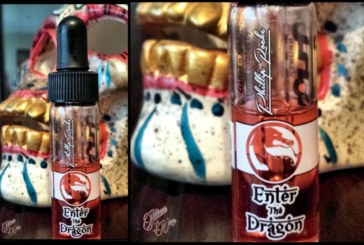 ENTER THE DRAGON par Phillip Rocke pour GEMINI VAPORS