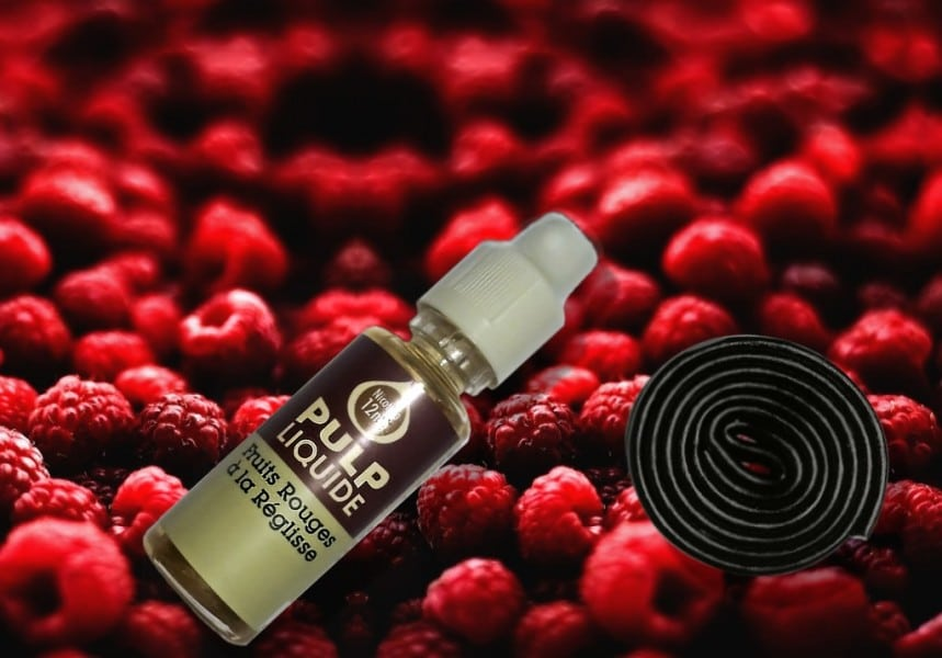 Rood fruit met zoethout van Pulp