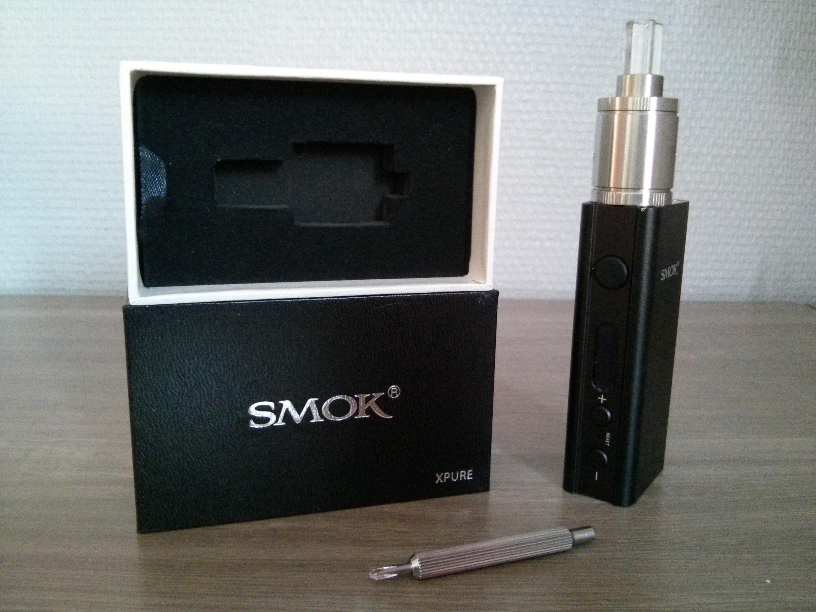 X-Pure par Smoktech