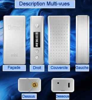 Cloupor Mini V2 Multivues