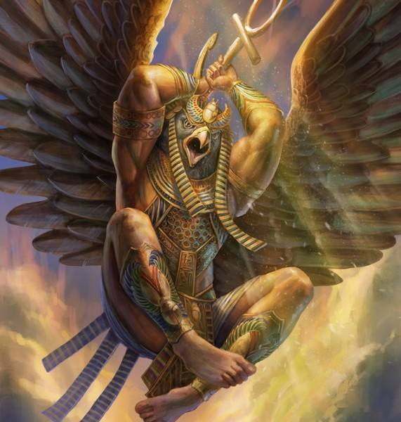 Horus et Ankh
