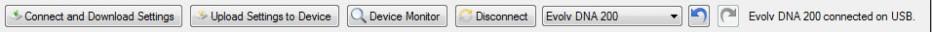 Escribe quick access buttons